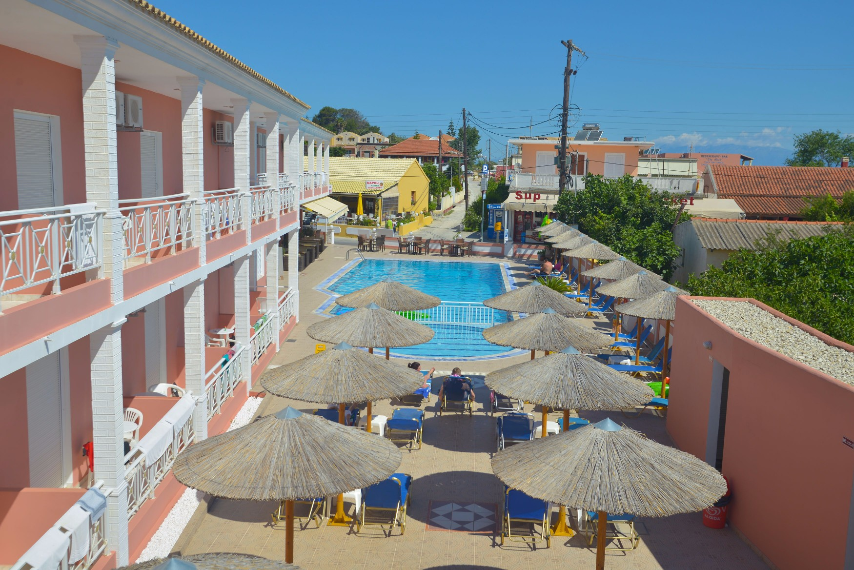 Angelina-Hotel-Sidari-Corfu-Pool-view-2